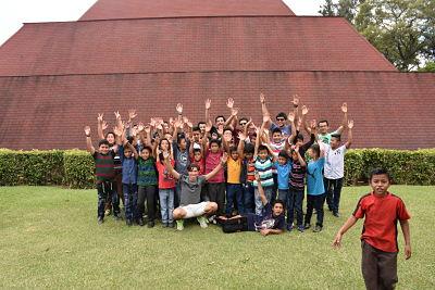 Clausura del Programa Uno con Uno de la Escuela de la Aldea San Luis, San José Pinula