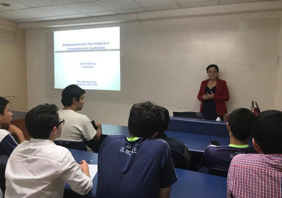 Inicia Aula de Emprendimiento con María Zaghi