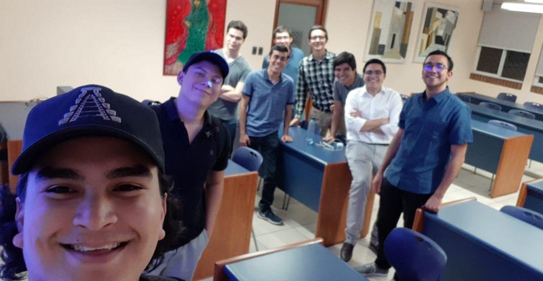 Chapinfilms en el aula de emprendimiento de mayo