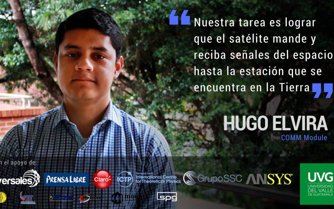 Residente del Centro Universitario Balanyá participa en el proyecto CubeSat en la UVG