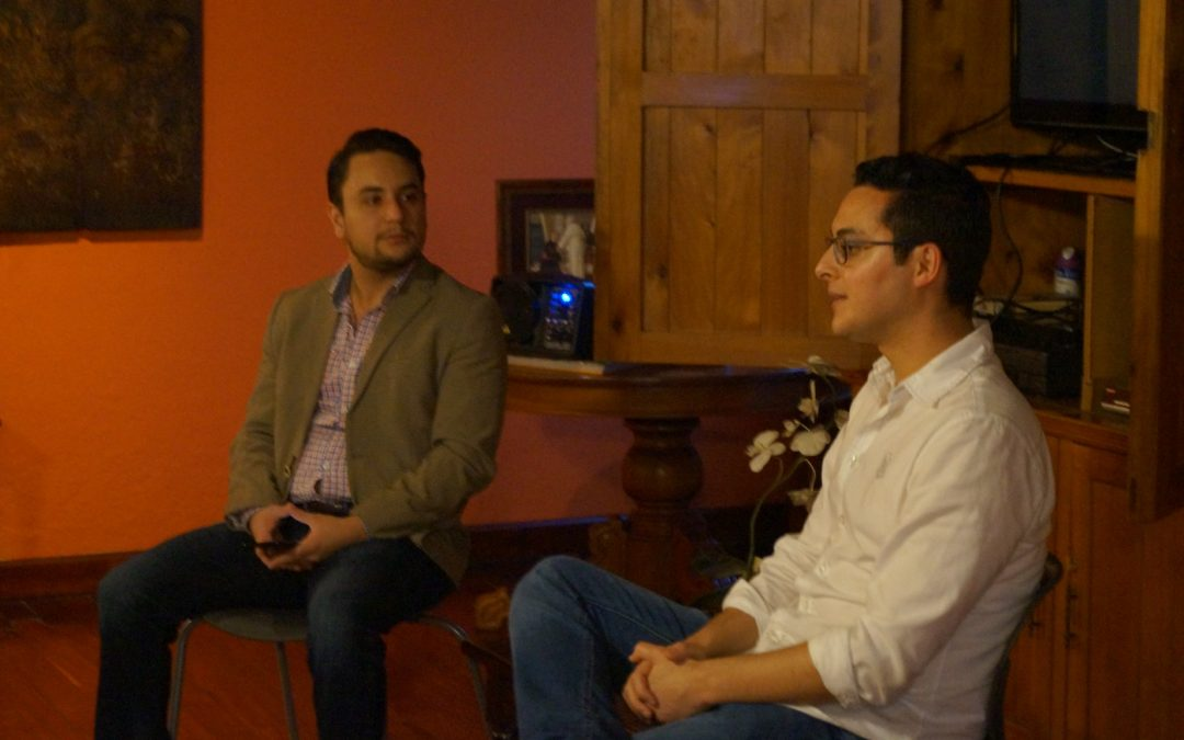 Conversatorio con Edgar Ortíz Romero