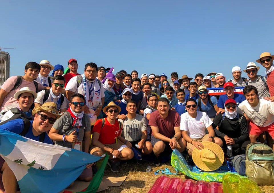 Universitarios de Balanyá en la JMJ 2019