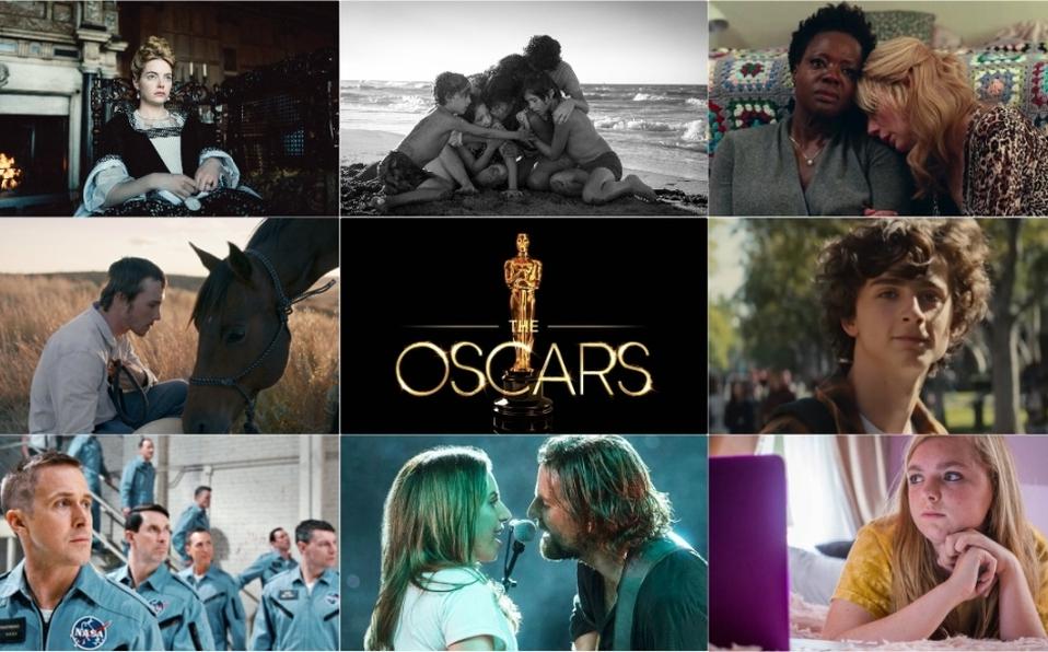 Las nominadas al Oscar 2019